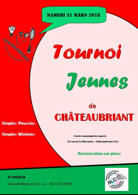 Convocations TDJ CHATEAUBRIANT